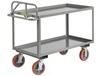 ALL-WELDED ERGONOMIC SHELF TRUCK